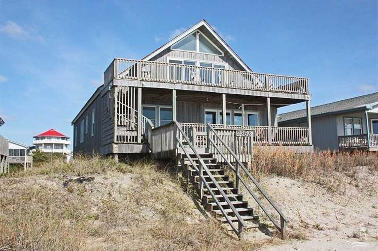 Oak Island oceanfront homes for sale